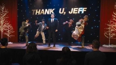 Thank u Jeff, parodia de thank u next de Ariana Grande