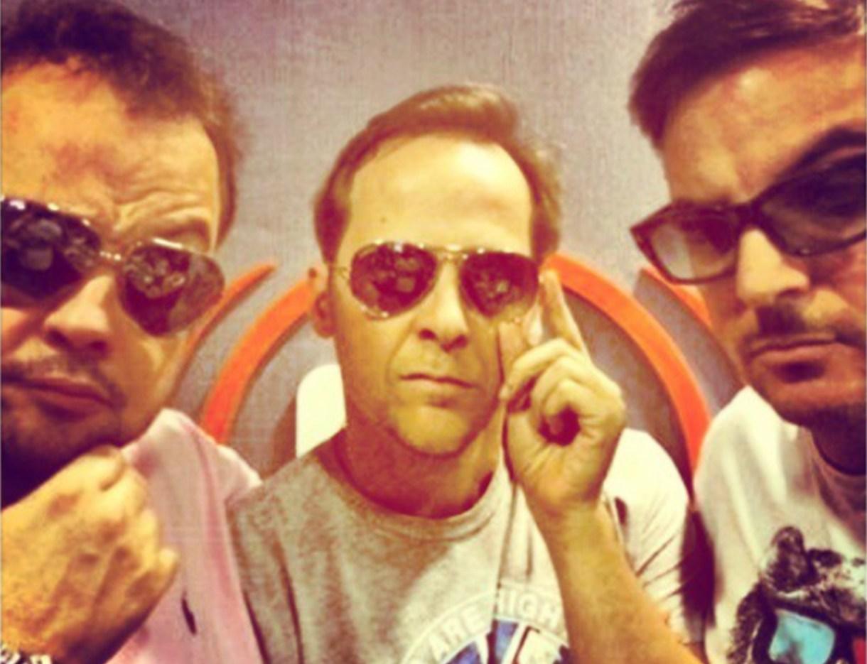 Ayer compinches, hoy ex amigos: Cabito, Matías Martin y Diego Ripoll (Foto: Instagram)