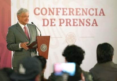 Conferencia de Prensa matutina (Foto: Presidencia)