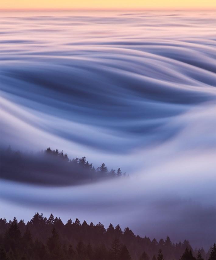 La bruma en el Monte Tamalpais, California (Fotos: National Geographic)