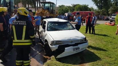 Así quedó el vehículo que fue recuperado (Gentileza Cadena 3)