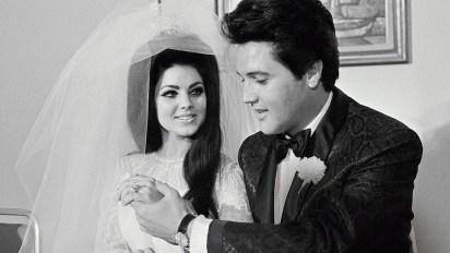 Priscilla Presley y Elvis el día de su boda, en 1967 (Foto: especial)
