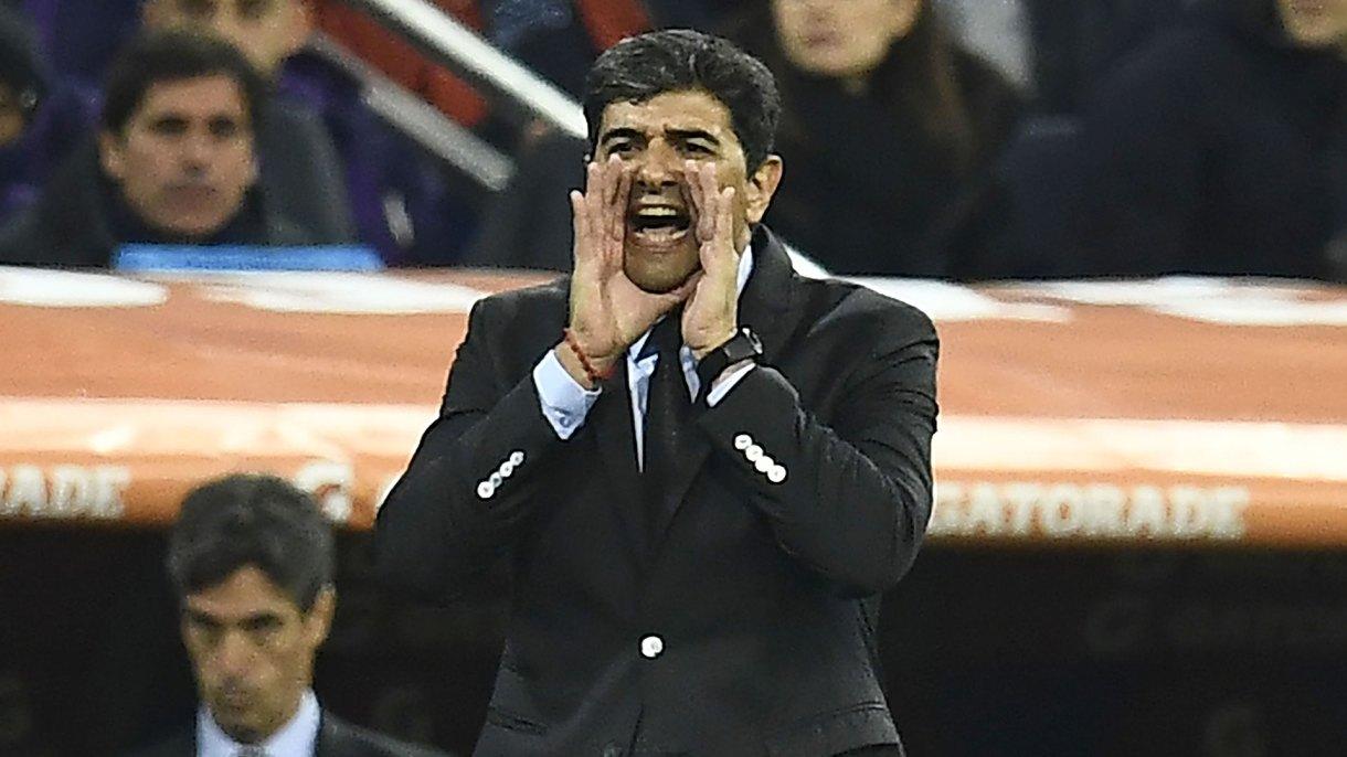 Biscay contó cómo fue el encuentro con Gallardo(AFP)