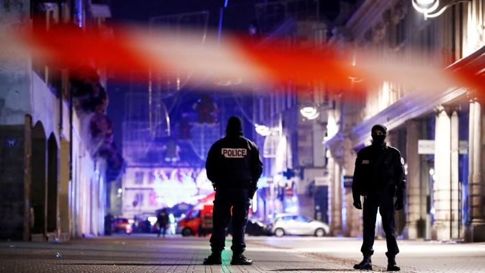 Tiroteo en Estrasburgo (Reuters)