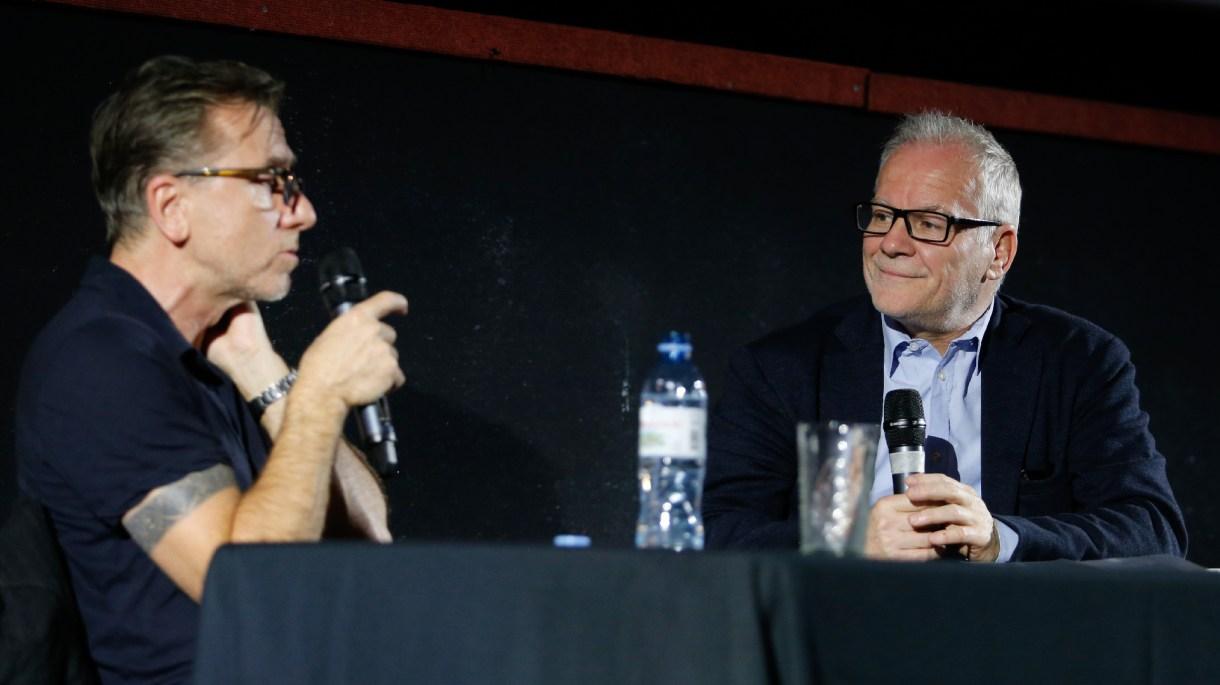 Tim Roth y Thierry Frémaux(Nicolás Aboaf)