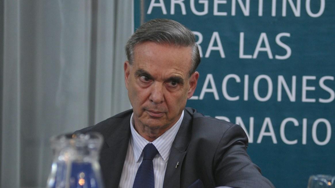 El jefe de la bancada del PJ federal en el Senado, Miguel Angel Pichetto (Patricio Murphy)
