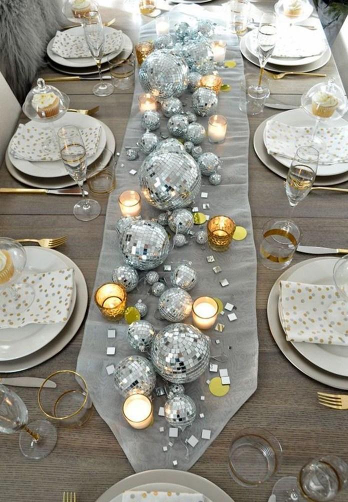 Resultado de imagen de decoracion de mesa para año nuevo