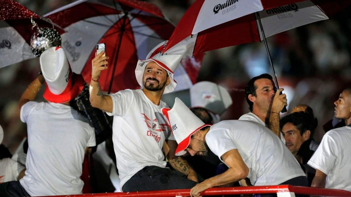 Rodrigo Mora, otro de los más ovacionados por el hincha de River en el Monumental