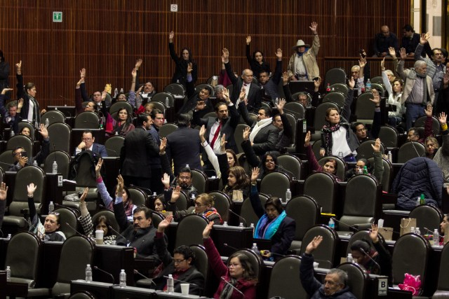 López Obrador también tiene un Congreso dominado por su partido, Morena. (Foto: Cuartoscuro)