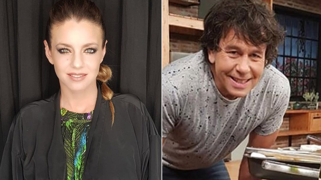 Geraldine Neumann y Ariel Rodríguez Palacios (Fotos: Instagram)
