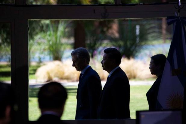 Cumbre entre los presidentes de Argentina y China, Mauricio Macri-Xi Jinping (Manuel Cortina)
