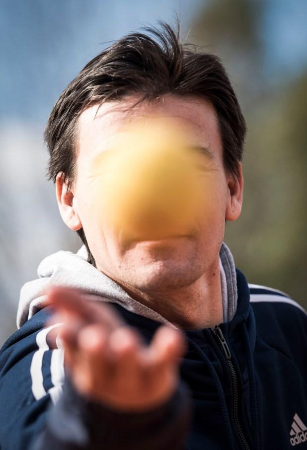 El ex tenista Guillermo Coria, uno de los capitanes del equipo de la Copa Davis (Guille Llamos)