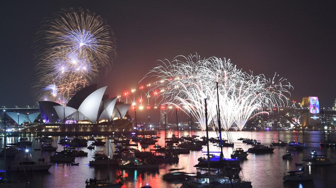 La Opera House de Sidney es el marco clásico para esta celebración en Australia