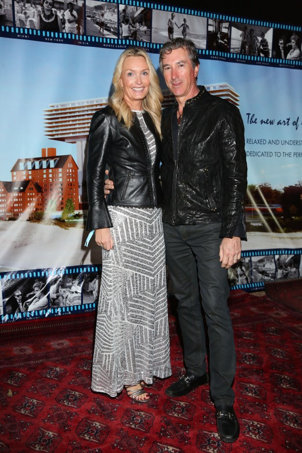 Pablo Roemmers y su mujer Cathrine