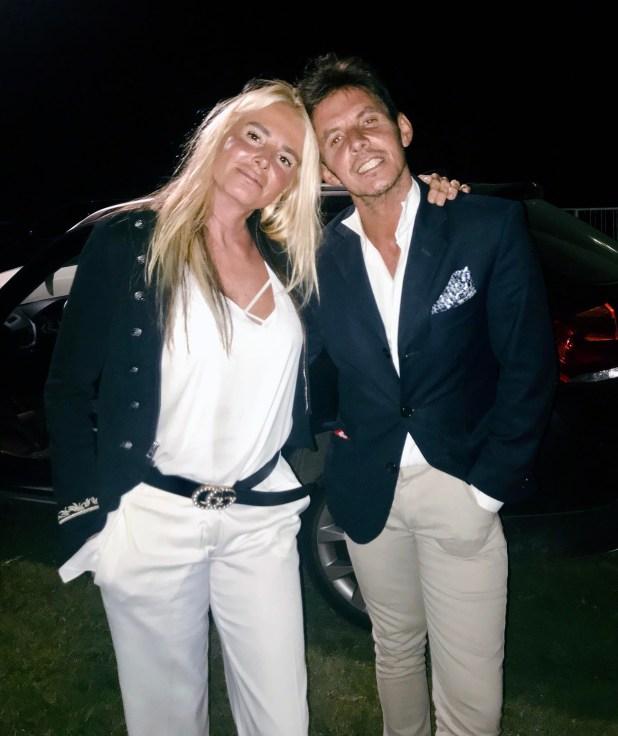 Mercedes Sarrabayrouse y Gerard Confalonieri