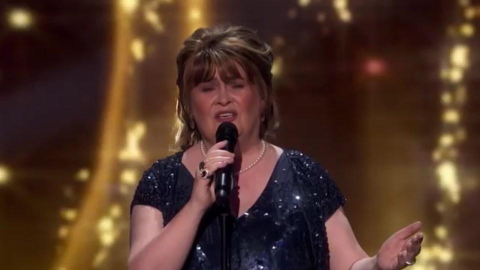 Susan Boyle volvió a deslumbrar con su regreso a la televisión en ...