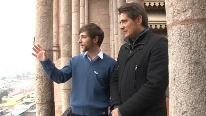 Desde los balcones de la Basílica se contempla toda la ciudad de Luján