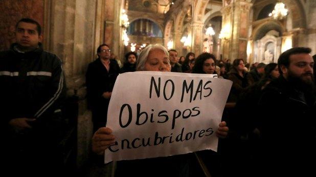 Una protesta contra los abusos en Chile (Reuters)