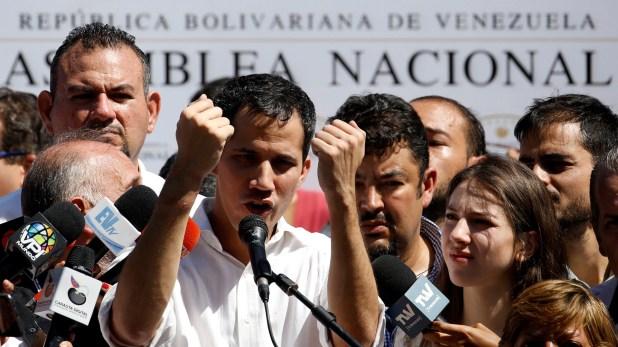 Juan Guaido, presidente de la Asamblea Nacional de Venezuela (REUTERS/Carlos Garcia Rawlins)