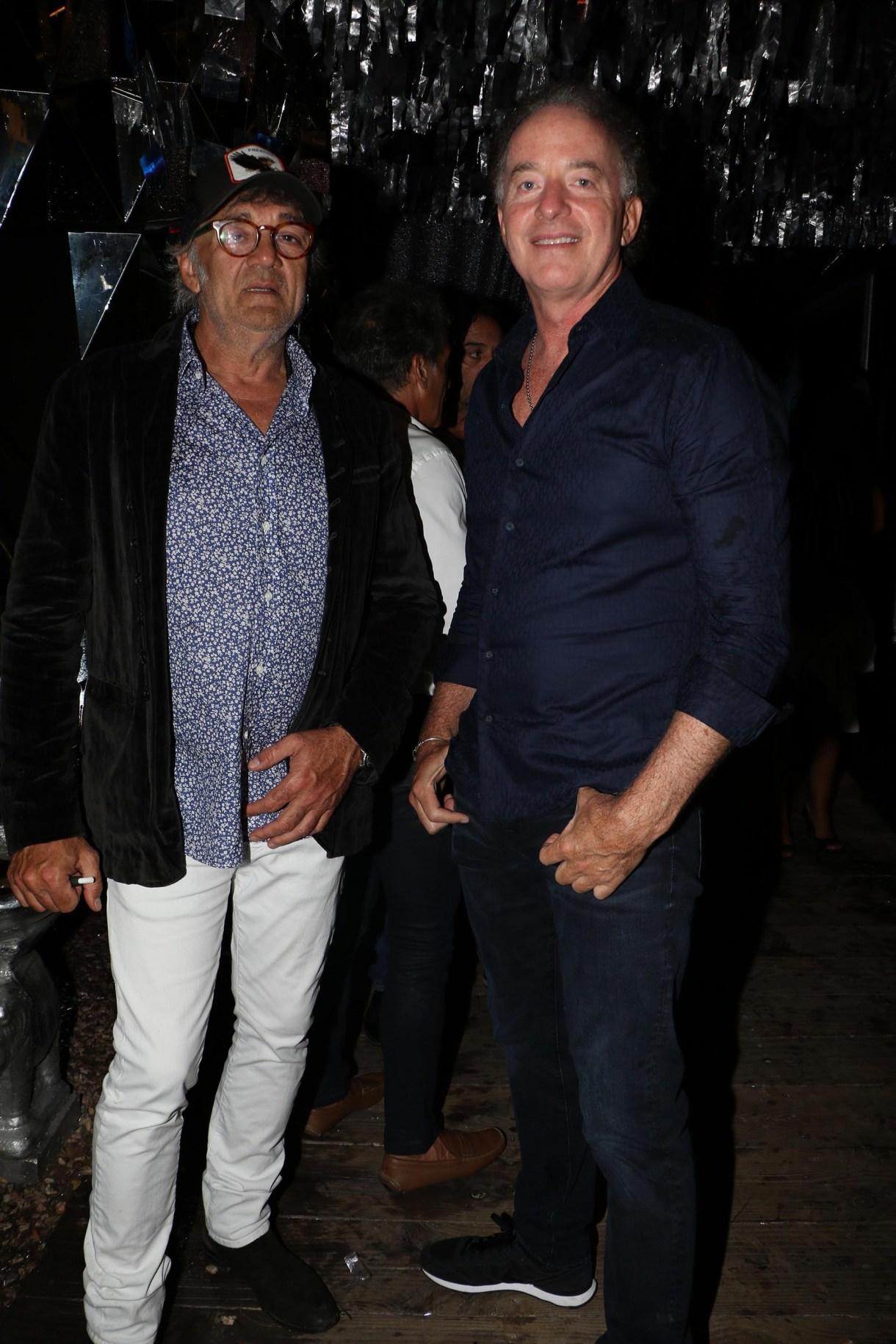 Osvaldo Brucco y Sebastián Eskenazi