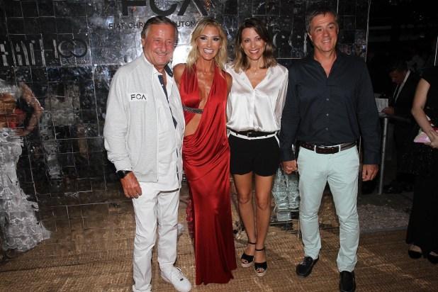 Cristiano Rattazzi y Gabriela Castellani junto a Isela Costantini y su pareja, Fernando Cinalli