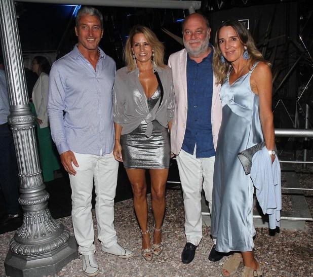 """José """"Pepe"""" Scioli, Érica Blau, Martín Cabrales y Verónica Zoani de Nutting"""
