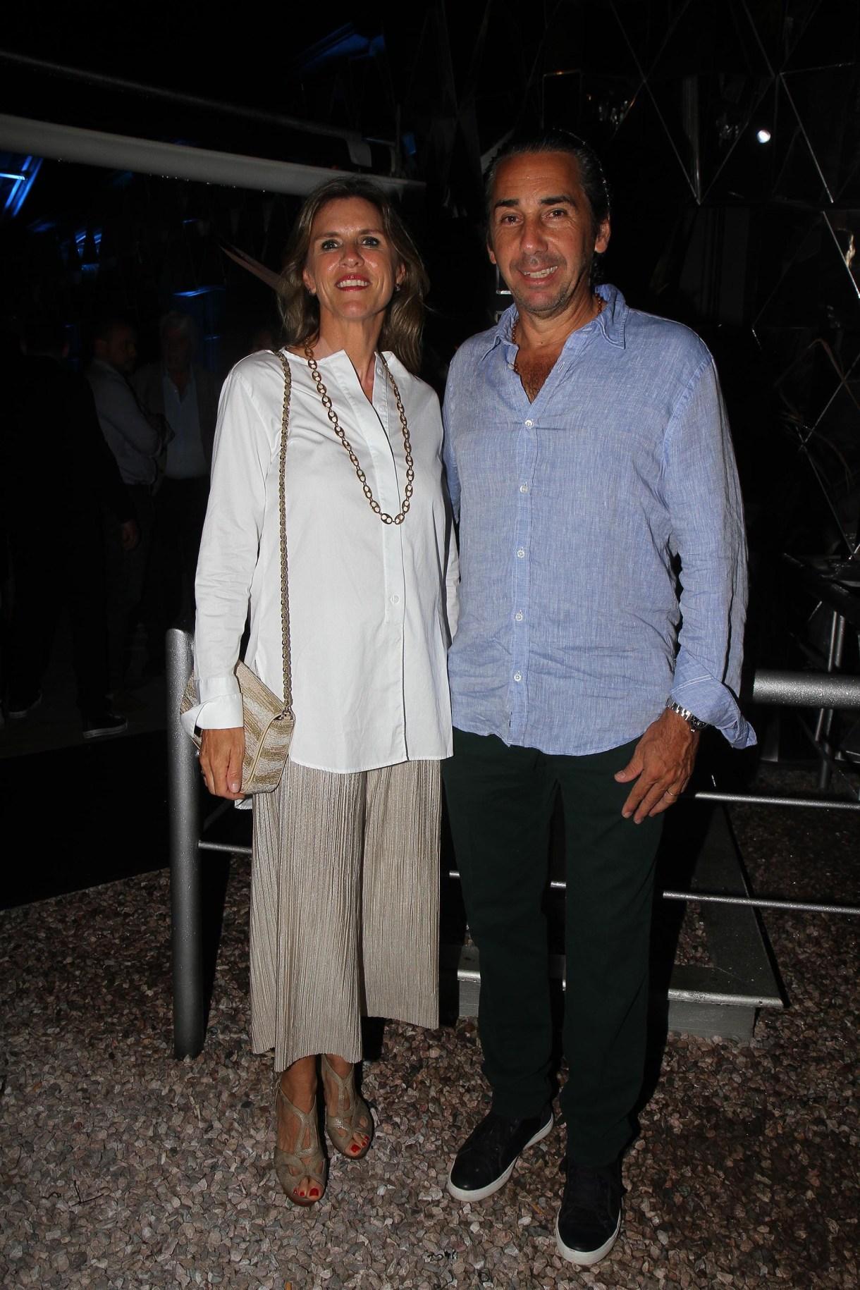 Gloria Confalonieri de Smith Estrada y Dicky Smith Estrada