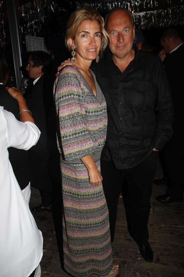 José Luis Manzano y su mujer Teresa Jordan