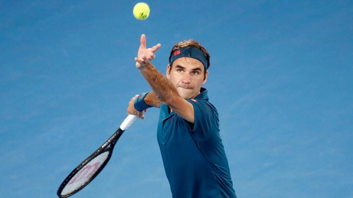 Federer debutó con un triunfo en Melbourne (REUTERS)