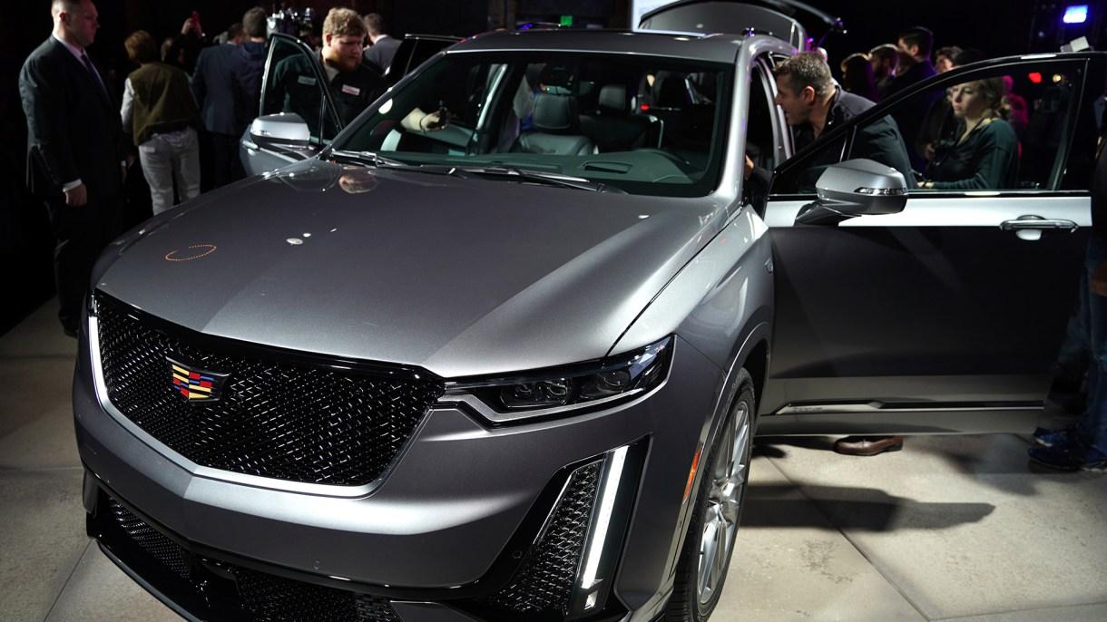 El Cadillac XT6 crossover (AFP)