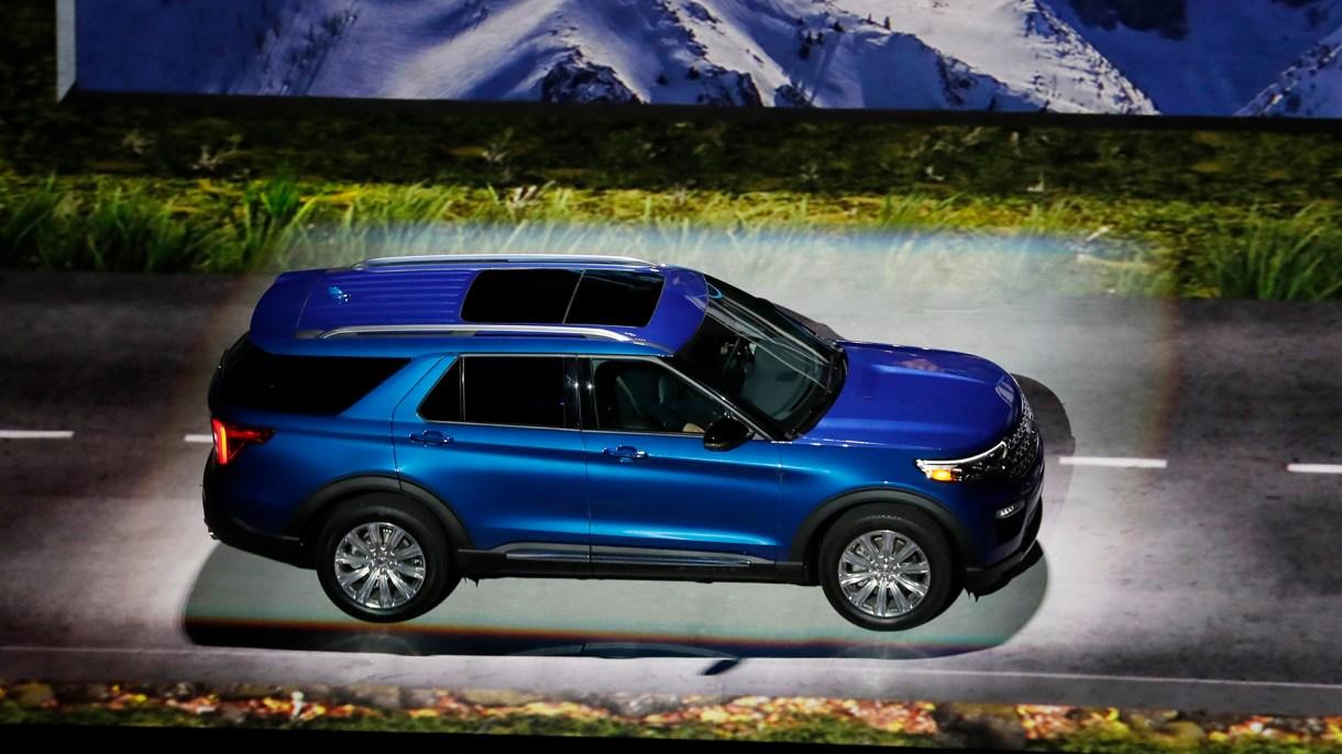 El Ford Explorer 2020 es el vehículo más popular de la feria (AP)