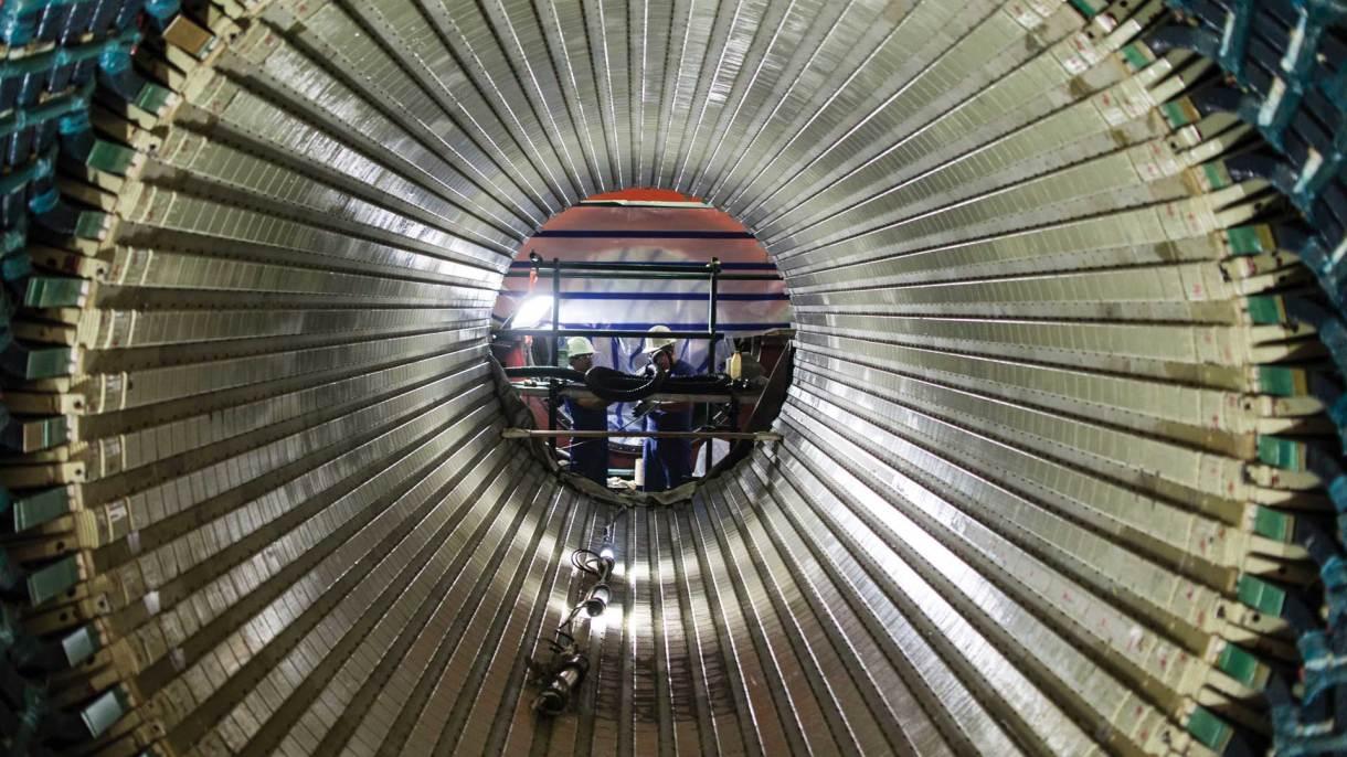 El 100 % de los componentes nucleares fueron desarrollados en Argentina. Foto: Emmanuel Bocchi/DEF.