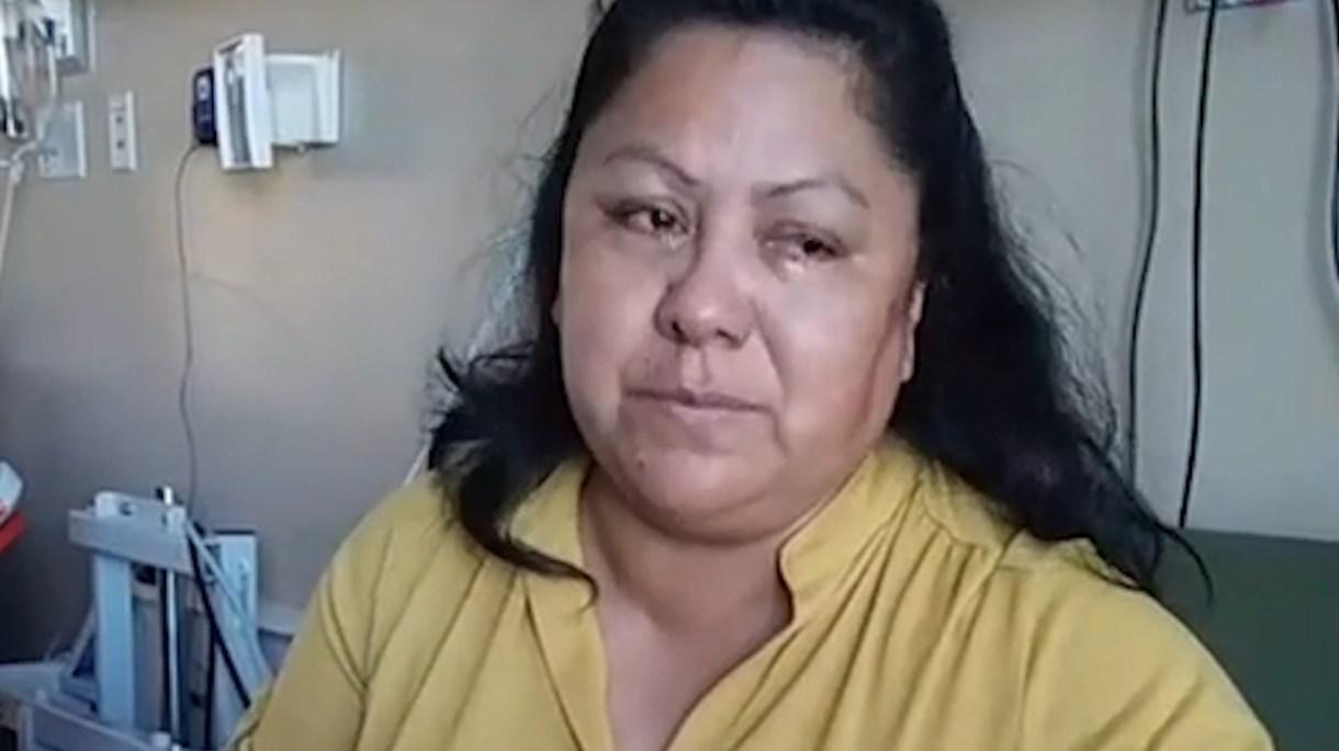 Danalu López apoyó a Salvador durante su estancia en el hospital. (Foto: Especial)
