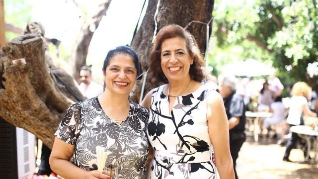 Pyrhia Saroussy y Lily Pereg, madre y tia de Gil, las víctimas del doble crimen.