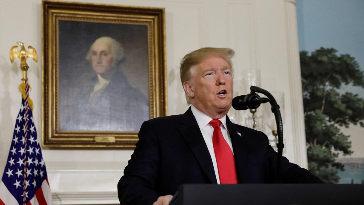Trump en la Casa Blanca (REUTERS/Yuri Gripas)