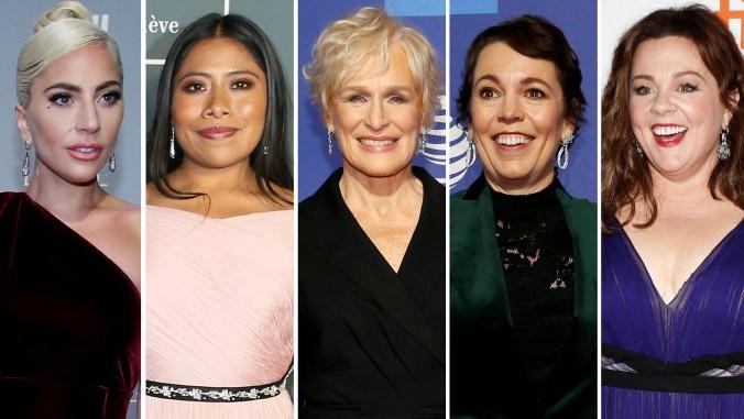 Las nominadas a Mejor Actriz en la entrega de los premios Oscar 2019 (Foto: Reuters)