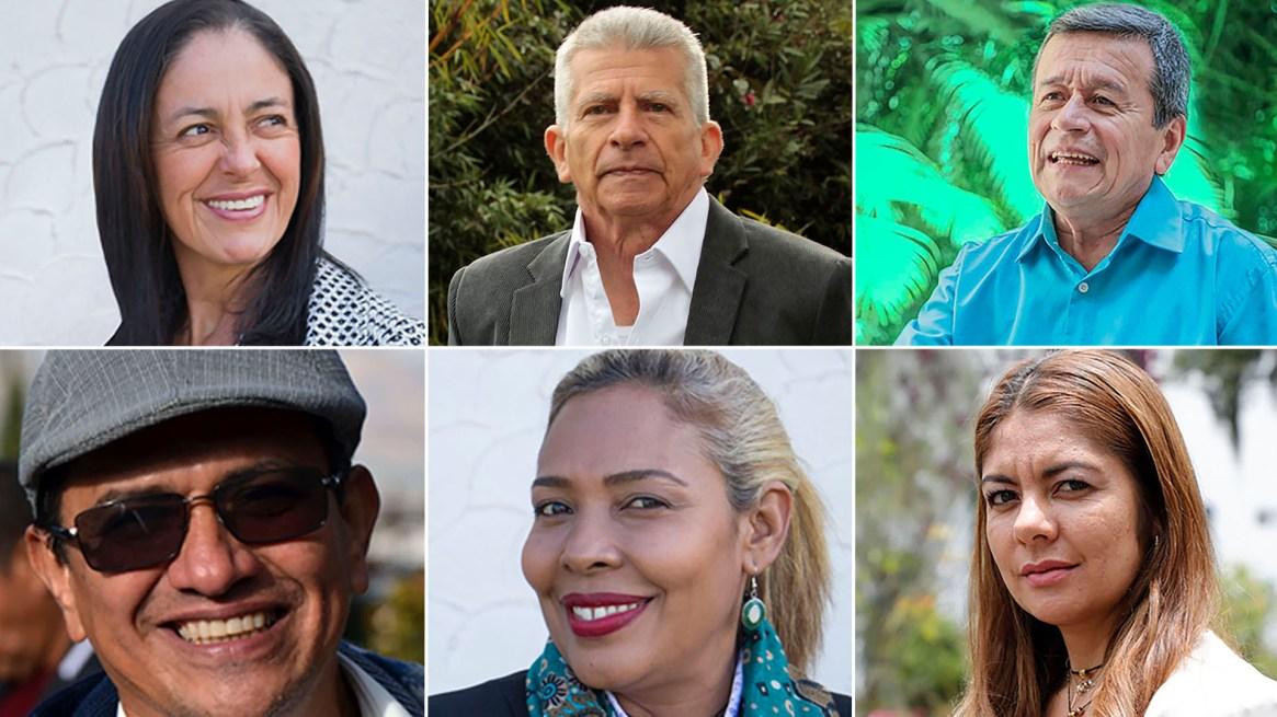 Estos son seos de los diez delegados del ELN en la mesa de negociación de La Habana.