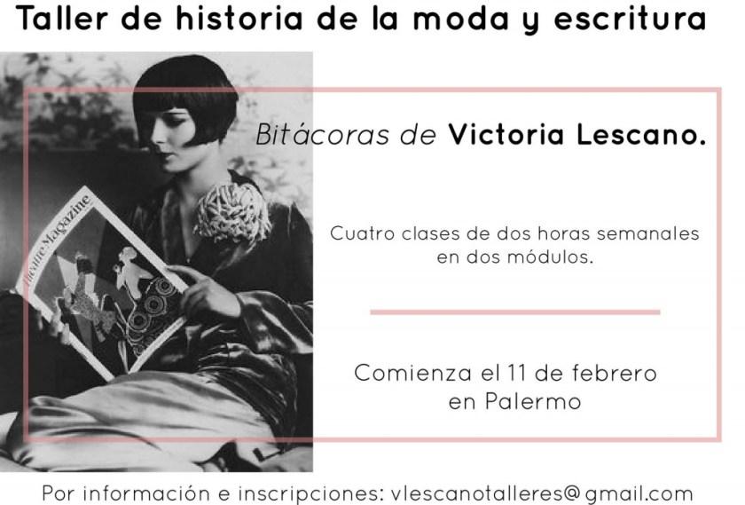 taller de historia de la moda