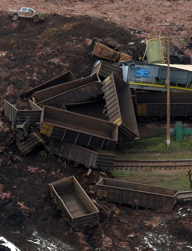 Más imágenes del desastre de la minera Vale en Brasil (REUTERS/Washington Alves)
