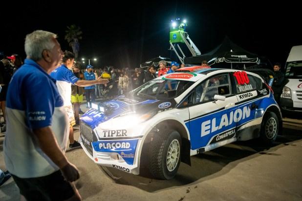 El rally callejero nocturno fue uno de los eventos más convocantes en Pinamar