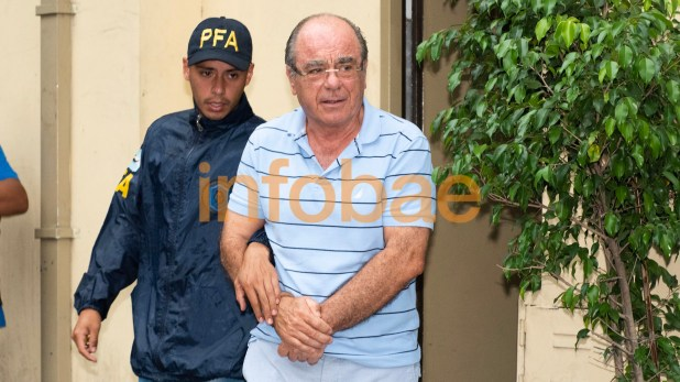 Miguel Ángel Plo, el abogado de Pochetti que hoy está detenido (Foto: Adrián Escandar)