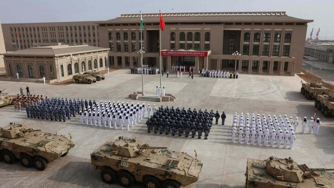 China inauguró en Yibuti en julio de 2017 la primera base militar fuera de sus fronteras. Foto: Archivo DEF.