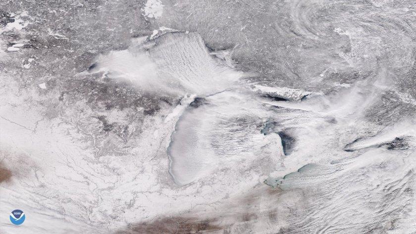 """El """"polar vortex"""" en gran parte de EEUU"""