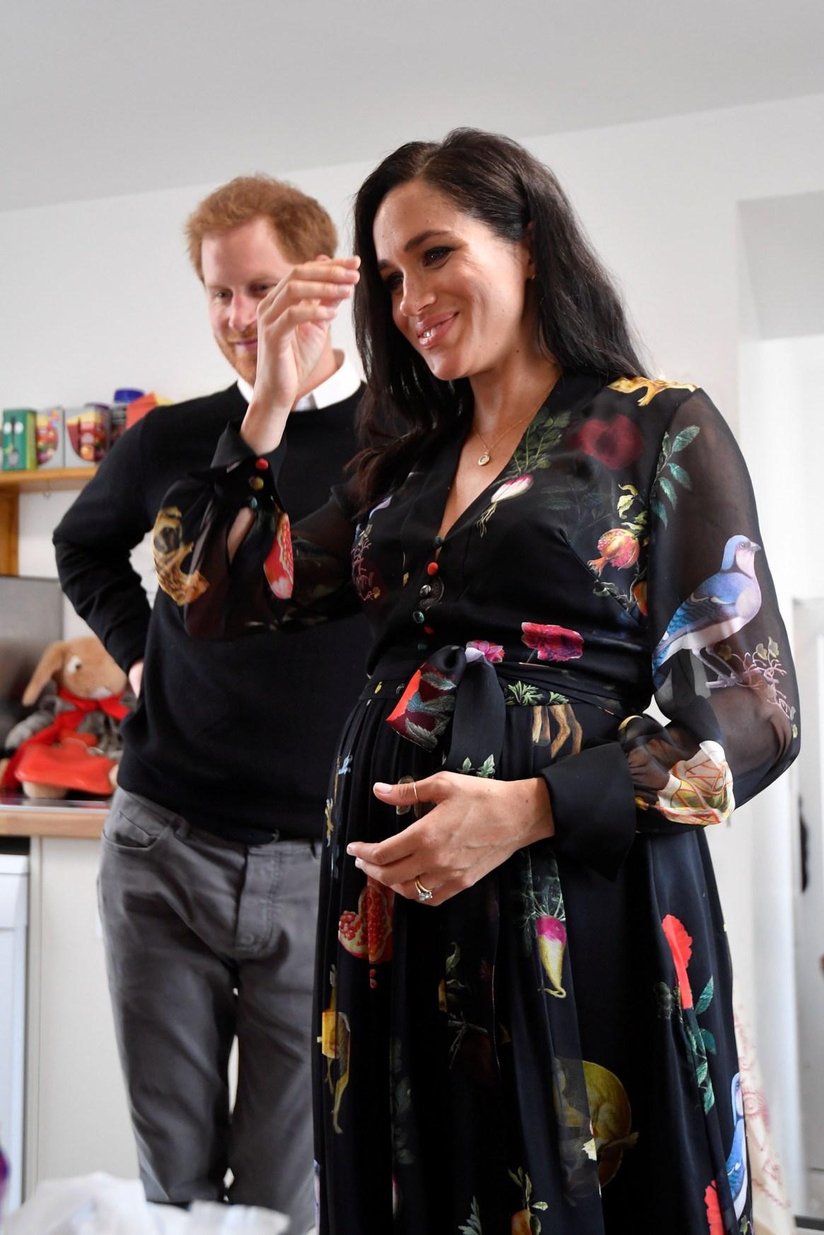 Harry y Meghan se preparan para convertirse en padres por primera vez, en la primavera europea /// Fotos: Reuters