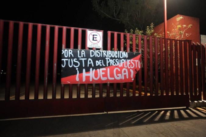 El secretario general del sindicato, Jorge Dorantes, confirmó la huelga (FOTO: LUIS CARBAYO /CUARTOSCURO.COM)