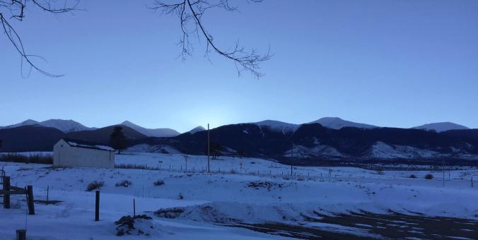 La zona es famosa por su espectacular vista de las montañas (Foto: @MastaDisciple)