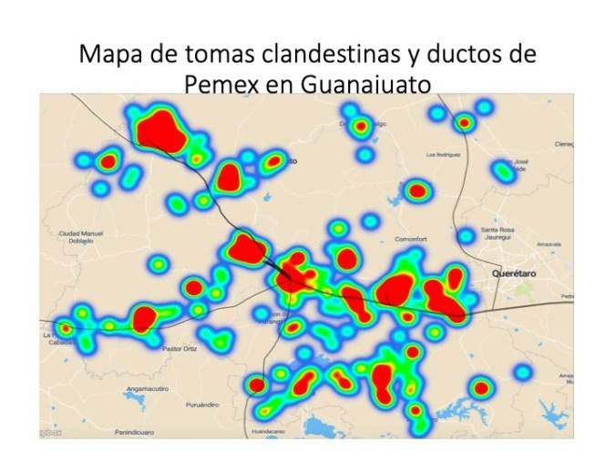 Losfeminicidios en Guanajuato se dan a las zonas cercanas de los ductos de Pemex (Foto: María Salguero)