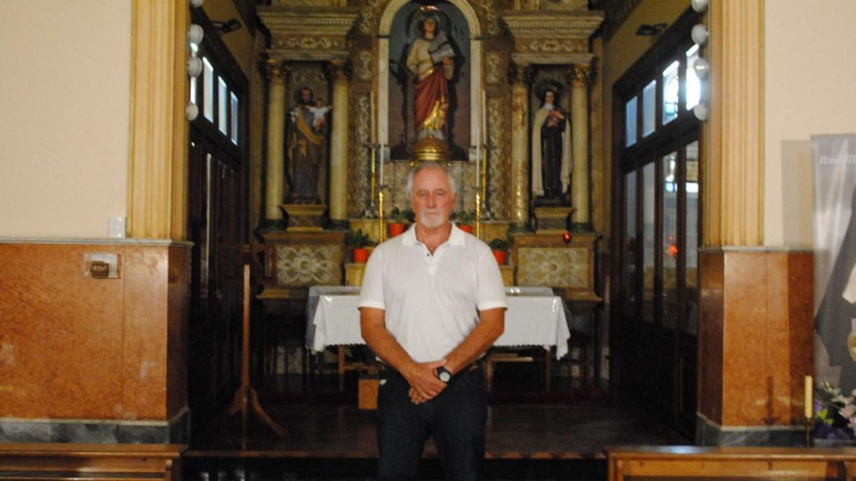 Pablo Araúz, uno de los pocos tataranietos de Patricio Peralta Ramos que quedan con vida