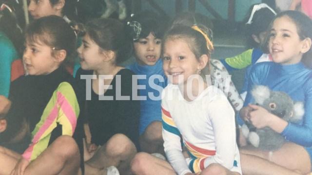 Noelia practicó gimnasia rítmica desde los cuatro años
