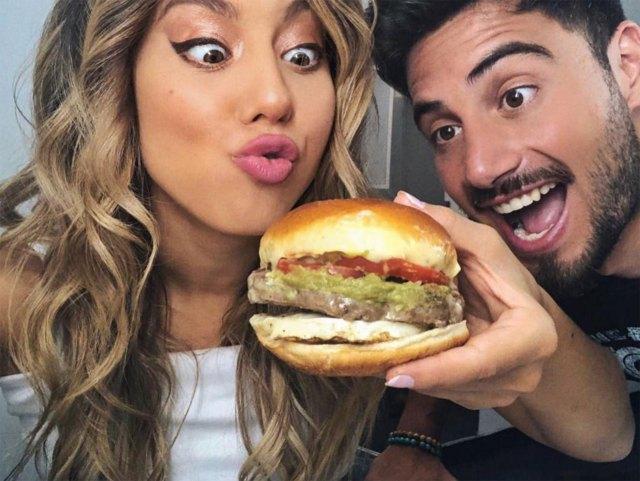 """""""Nos gusta más comer que estar en la cama con otras actividades"""", sentenció Flor. (Foto: Instagram)"""